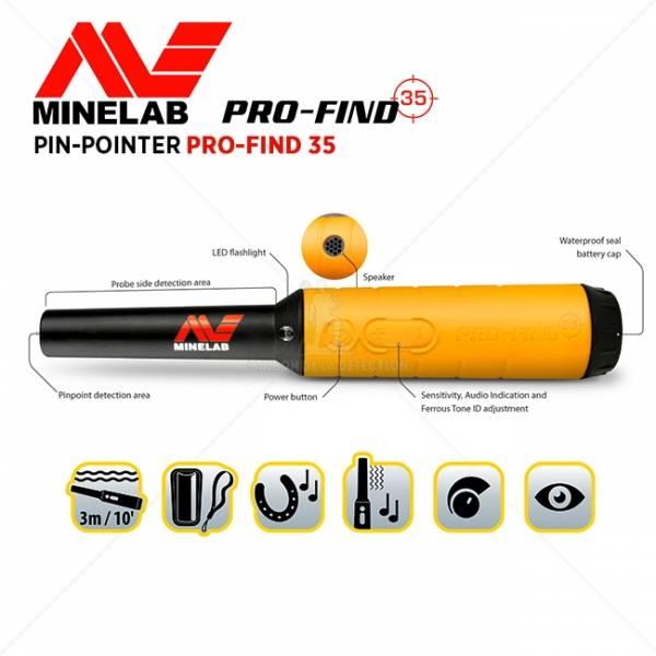 Minelab Pro Find Minelab Pinpointer 35