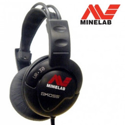 Minelab Koss UR-30 behoort onder de hoofdtelefoon.