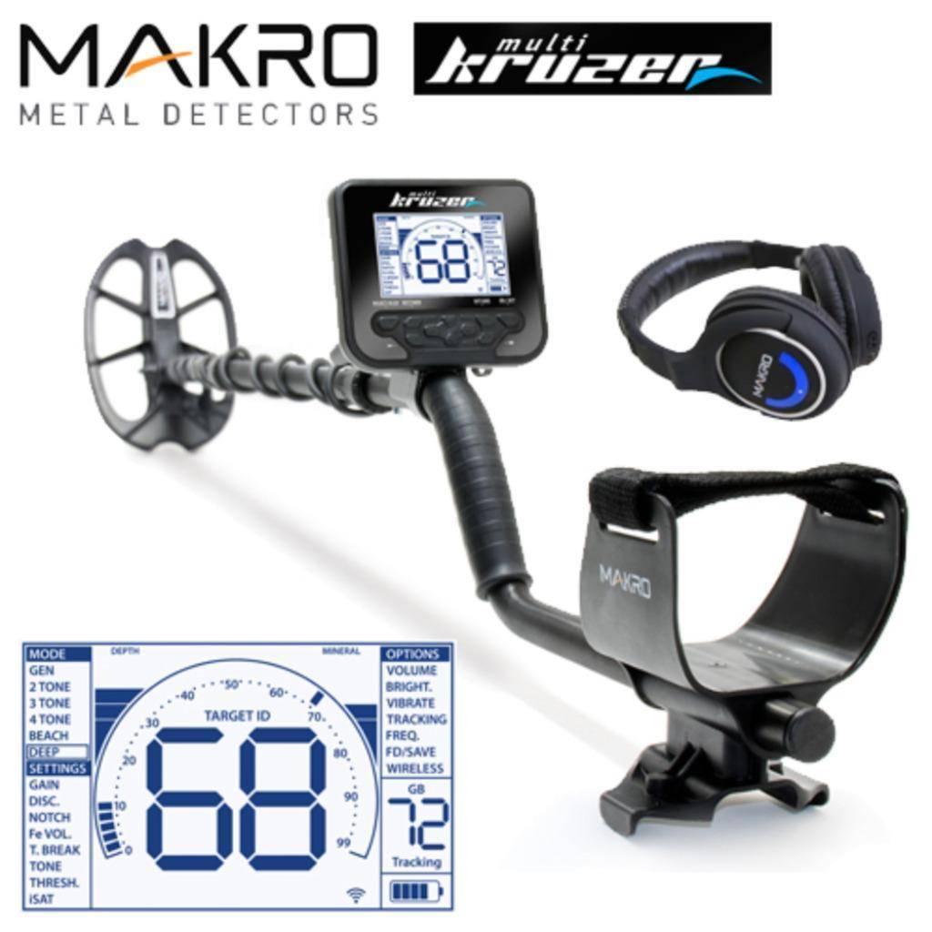 Makro Multi Kruzer van Makro onderwater Detector