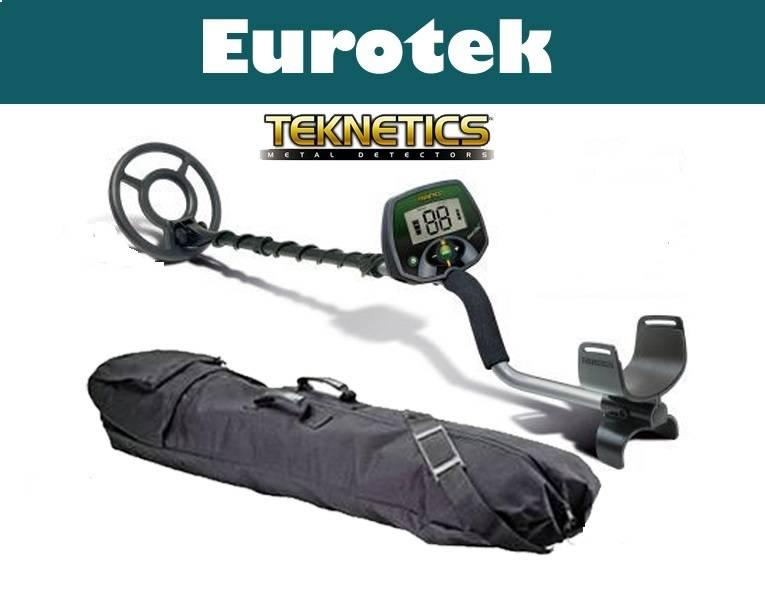 Teknetics Eurotek metaaldetector  Starterspakket en Display hoesje