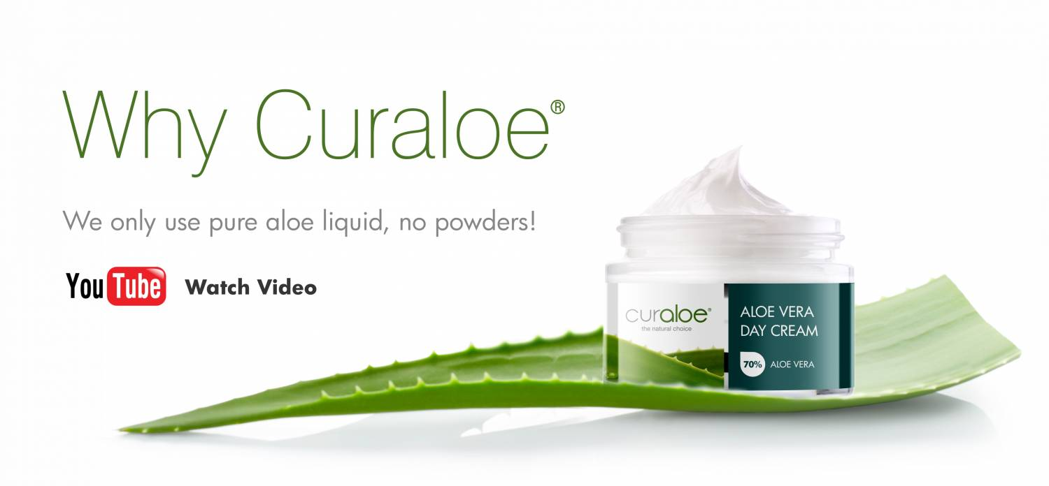 we only use pure aloe vera