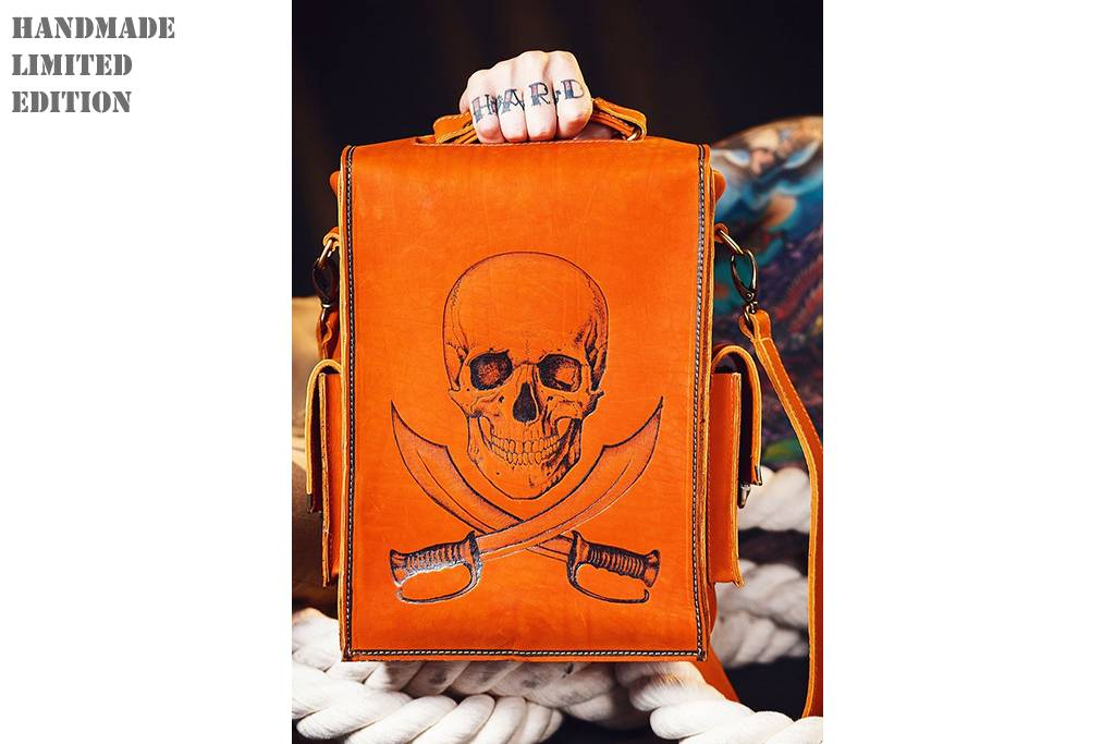 Dominator Bags PYROGRAPHIED PIRATES №2