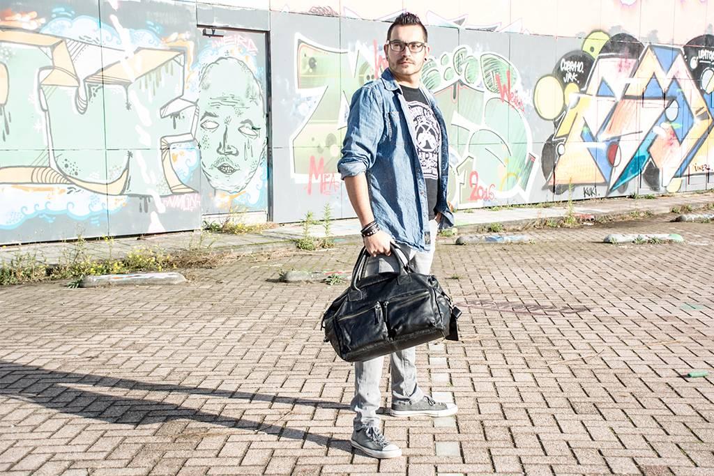 Legend DALLAS Black - SCHOUDERTAS HEREN