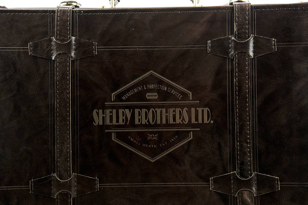 Shelby Brothers collection by Orange Fire Peaky Blinders briefcase brandy