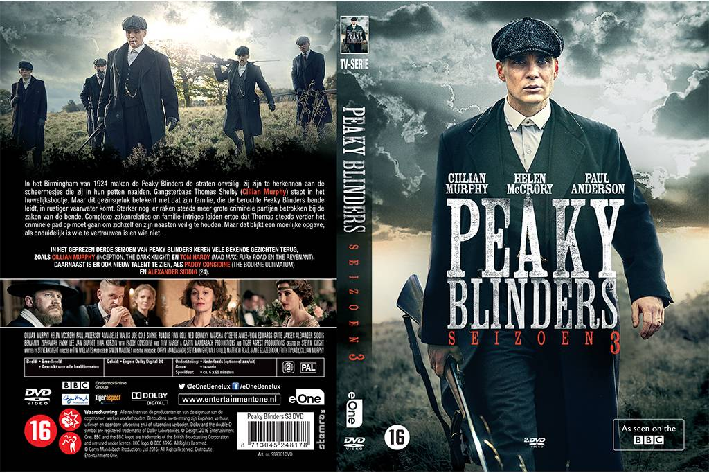 Shelby Brothers collection by Orange Fire Peaky Blinders - Seizoen 3 DVD