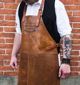 Shelby Brothers collection by Orange Fire SOLOMON'S BAKERY Apron Cognac