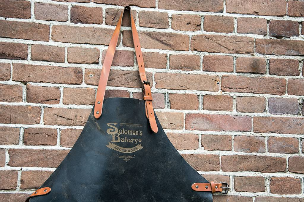 Shelby Brothers collection by Orange Fire SOLOMON'S BAKERY Apron Antraciet