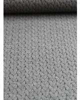 cable textured knit fabric