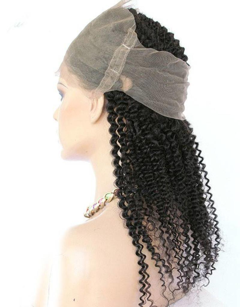 Kinky Curly 360 Lace Frontal