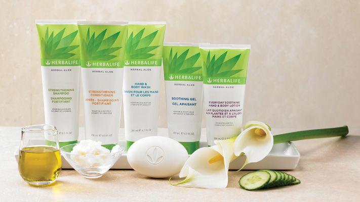Herbal ALOE - Hautpflege
