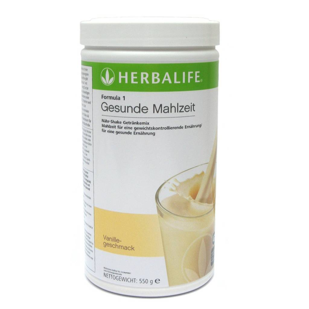 Herbalife Formula 1 Nähr-Shake Getränkemix - Vanille