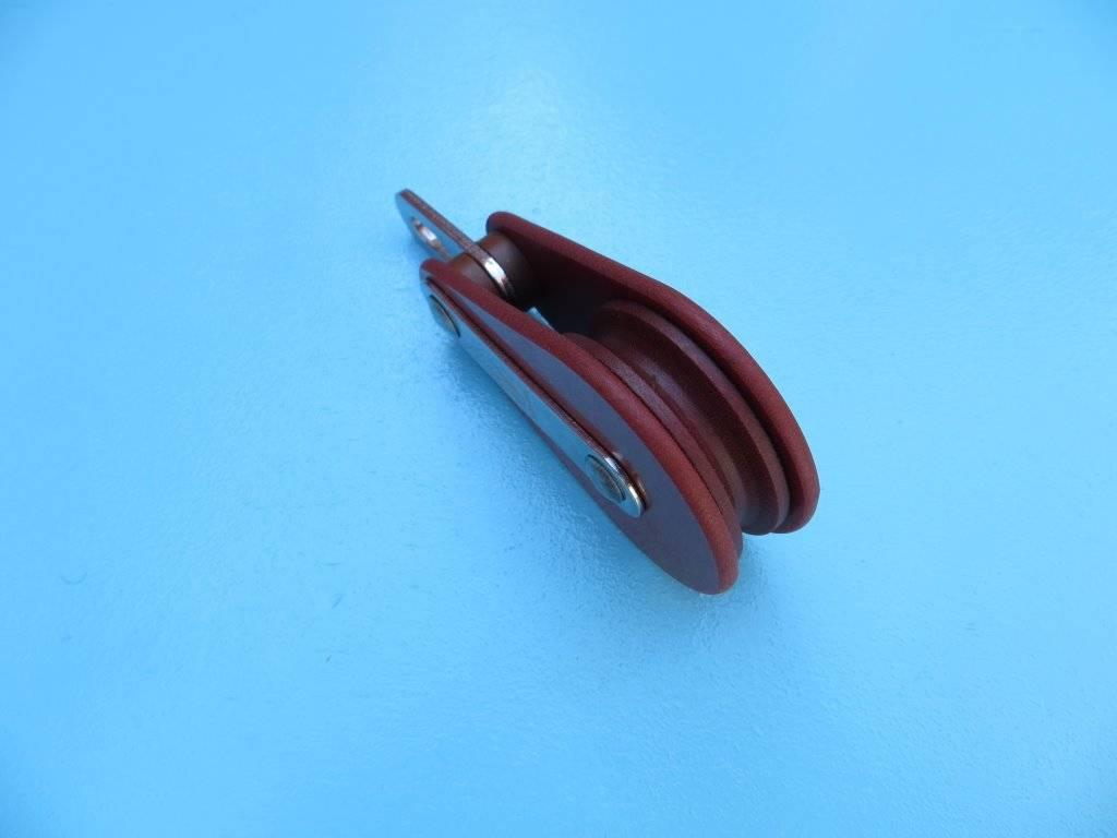 Blöcke für Drahseil 4, 5 und 6mm - Niro Wassersport
