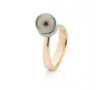 Tahiti parel pearl a trois ring
