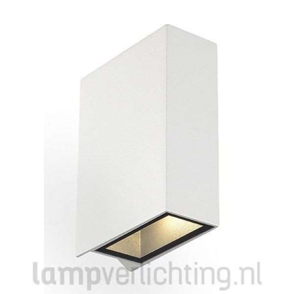 Wandlamp Up Down LED 2x3W IP44