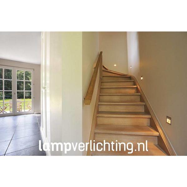 LED Inbouwspot Vierkant Curve