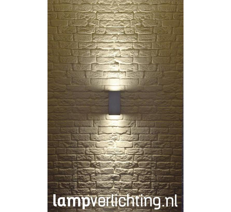 Buitenlamp Kuub XL Updown Wall