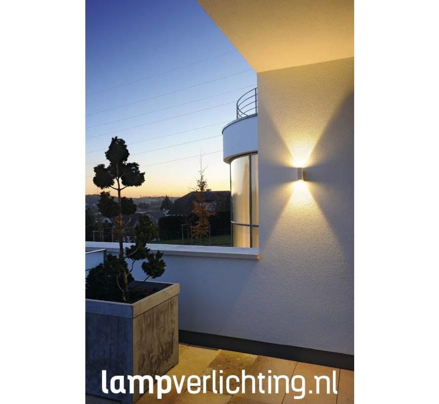 Wandlamp Up Down LED 2x3W IP44
