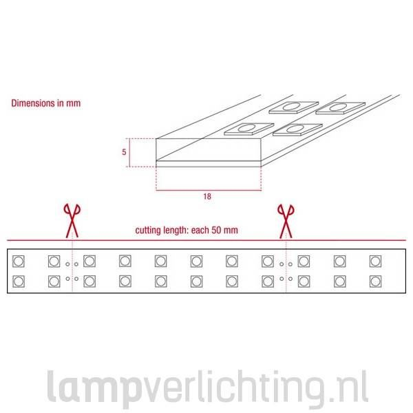 LED Strip 240 IP68 5 meter