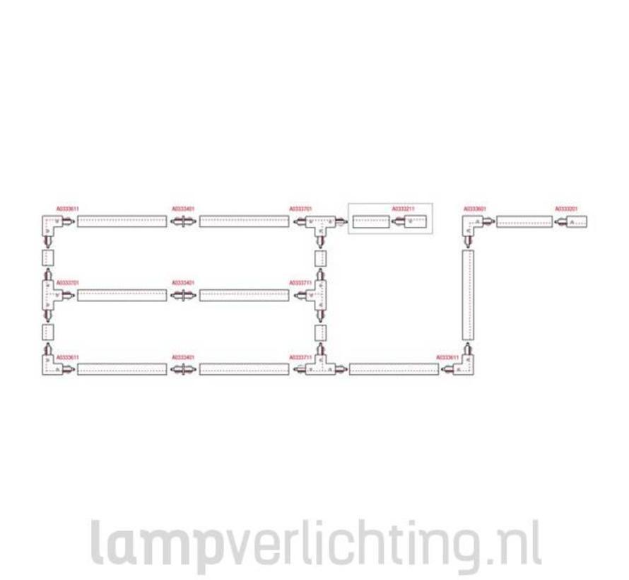 3-Fase Rail 1 meter