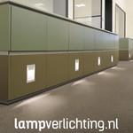 Wand Inbouwlamp LED 12x15,5 cm
