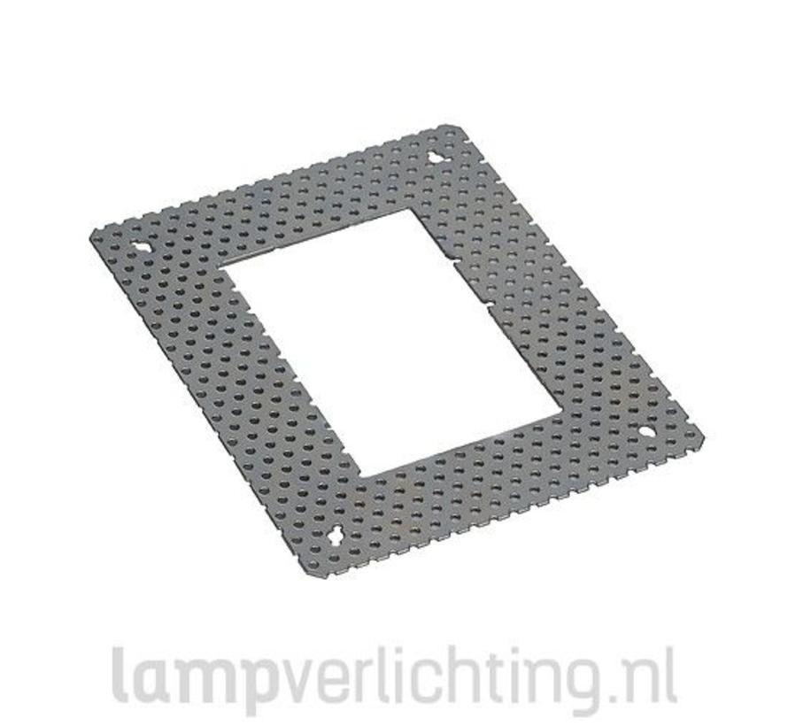 Stucframe voor Inbouwlamp 12x15,5 cm