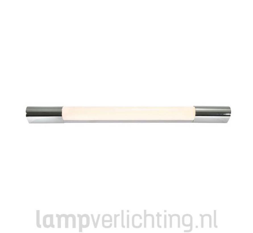 LED Spiegellamp 60 cm IP44 Chroom
