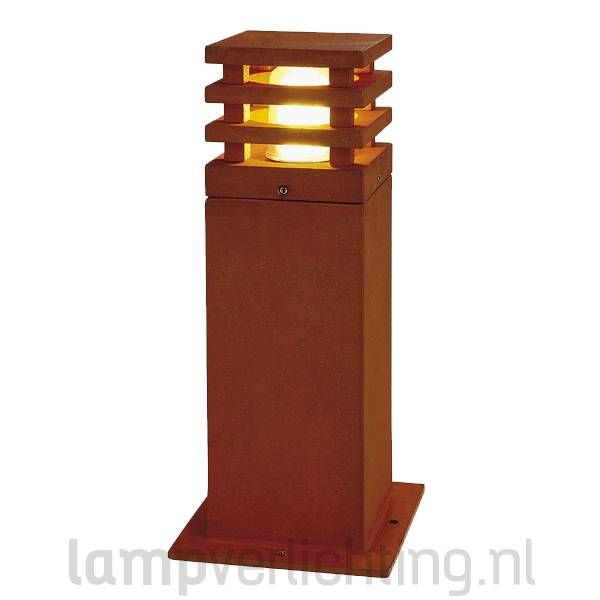 Rusty Square 40 Buitenlamp Roest Cortenstaal