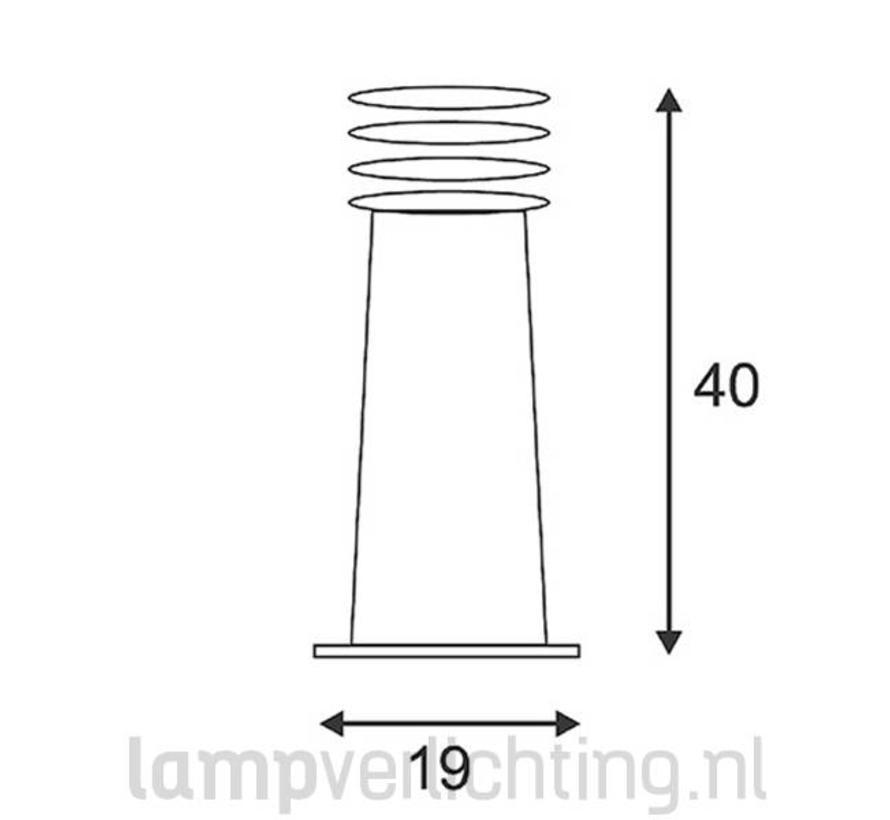 Rusty 40 Tuinlamp Geroest Staal Cortenstaal