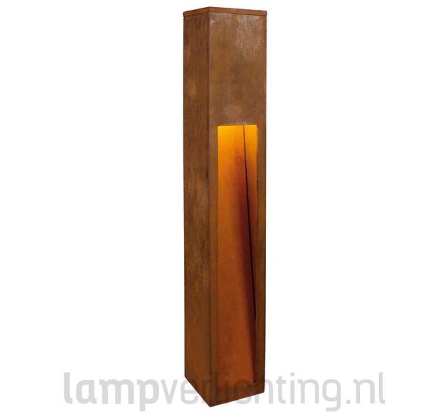 Rusty Slot 80 Roest Buitenlamp Cortenstaal