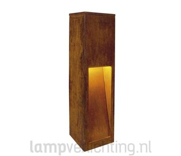 Rusty Slot 50 Buitenlamp Roest Cortenstaal