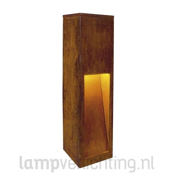 rusty slot 50 buitenlamp roest cortenstaal laagste prijs. Black Bedroom Furniture Sets. Home Design Ideas