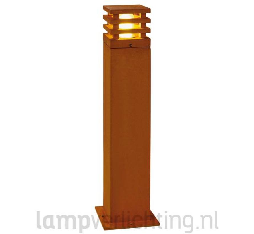 Rusty Square 70 Buitenlamp Cortenstaal Roest