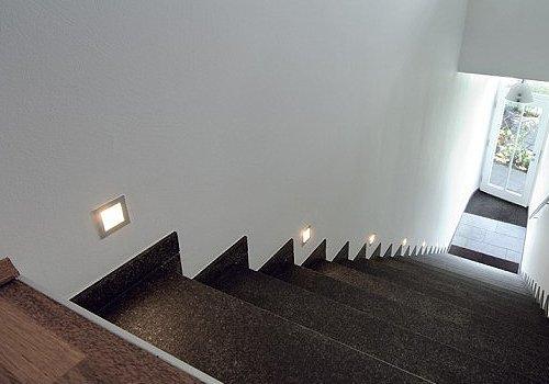 Wand inbouwspots