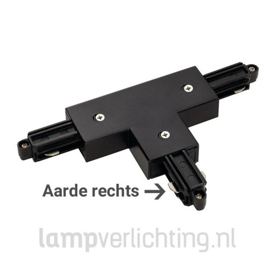 1-Fase Rail T-Connector Rechts