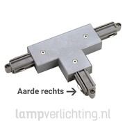 1-Fase Rail T-Connector Rechts