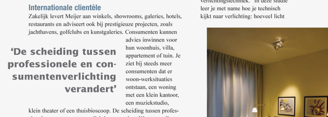 Lees het artikel over LampVerlichting.nl in het lichtmagazine Installicht