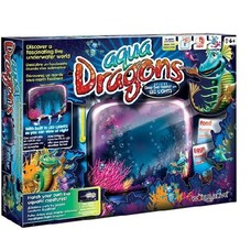 Aqua Dragons - Sea Monkeys Aquarium + Led