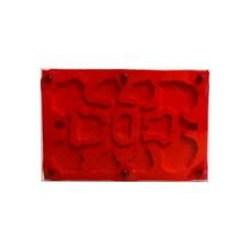 Rode protectie folie voor mierenboerderijen 10x15
