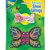Vlinder schoenveter vleugels