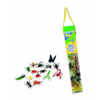 Plastic gedatailleerde insecten