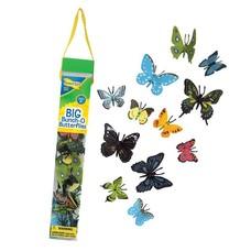 Plastic gedatailleerde vlinders