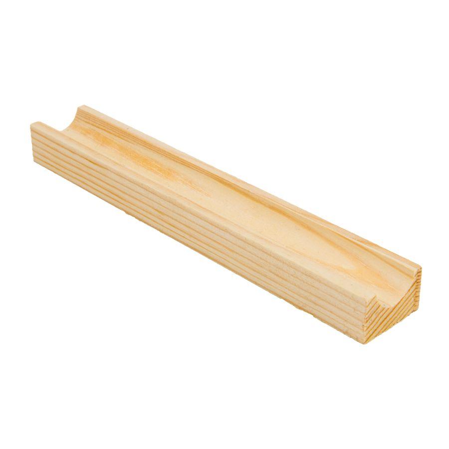 Reageerbuis houder hout