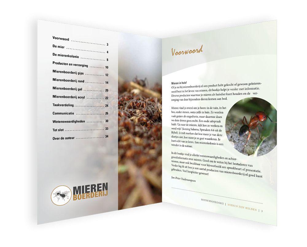 Boekje 'Mieren zijn Helden'!