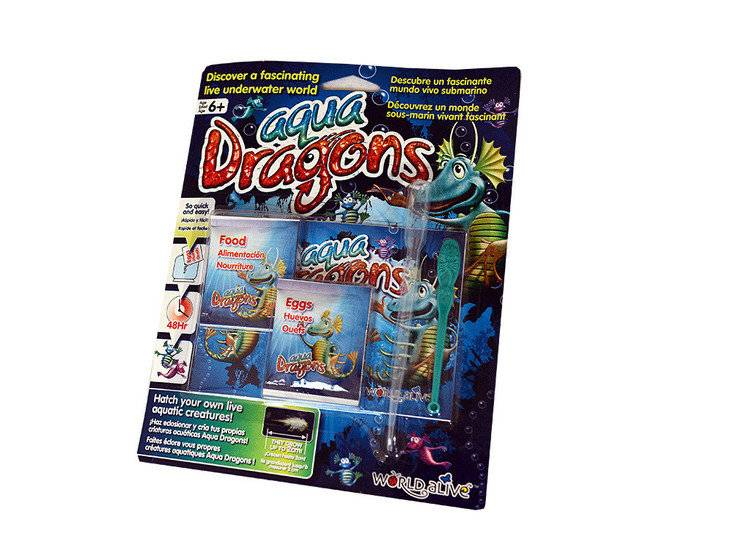 Aqua Dragons - Sea Monkeys - Blister