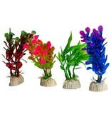 Kunstplanten inrichting verblijf