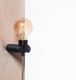 Het lichtlab Wandlamp No.16 zwart