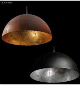 LARINO  hanglamp  Roest - bladgoud / wit
