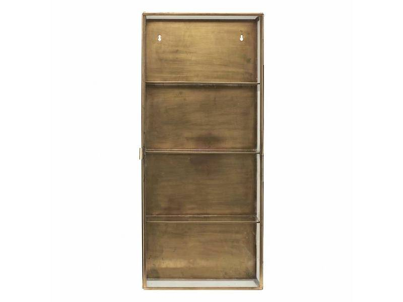 House Doctor CABINET GLASS  BRASS house doctor