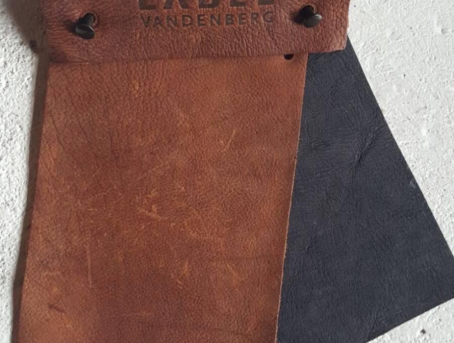 Label Van Den Berg HIDDE  Yak leder draaifauteuil