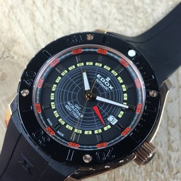 Edox Edox Class 1 GMT world timer automatic 93005-37R-NOJ
